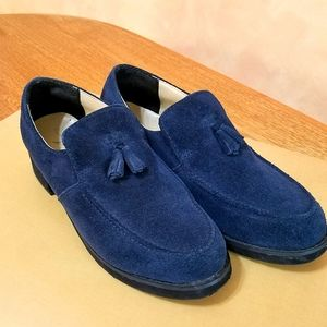 Suede Loafers, Newport News, sz 6.5